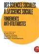 DES SCIENCES SOCIALES A LA SCIENCE SOCIALE
